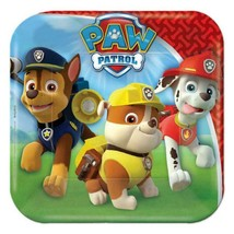 Paw Patrol Dessert Cake Plates Birthday Party Supplies 8 Per Package NEW - $3.85