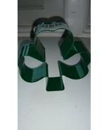 "Wilton metal Irish shamrock clover St Patricks day shaped cookie cutter 3"" - $4.95"