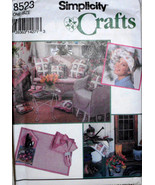 Simplicity Crafts 8523, Pattern for Patio Garden, Round Square Tablecloths - $10.00
