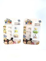 Disney Jakks TSUM TSUM  2 3 Packs Series 2 Scrump Flounder Elsa Olaf BRA... - $8.31