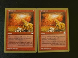 MTG / Firestorm / Championship Series x2 + Bonus Card / Free Shipping / Indiana - $13.99