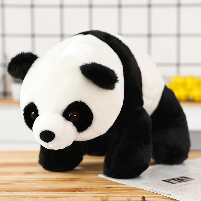 Cute Baby Large Size Panda Bear Plush Stuffed Animal Doll Animals Toy Pillow Car image 4