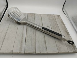 """Easy-Lock 18/10 Stainless Steel Spatula Tongs Slotted BBQ 16""""  - $19.99"""