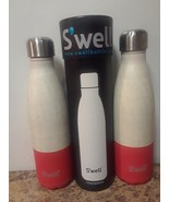Swell Vacuum Insulated Stainless Steel Water Bottle 17 oz starboard, lot... - $35.17