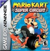 Mario Kart Super Circuit (Nintendo Game Boy Advance, 2001)VG - CART ONLY - $13.36