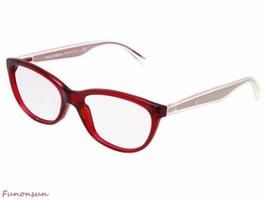 Dolce & Gabbana Femmes Lunettes de Vue D&G3141 550 Rouge Transparent Chat Eye - $97.01