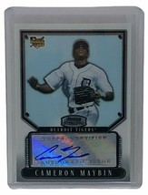 2007 Bowman Sterling Cameron Maybin Autograph Certified Auto RC Rookie Card - $20.00