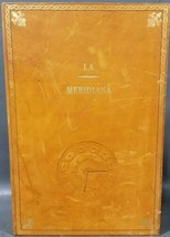Vintage J Peterman Co Leather Hidden Book Stash Watch Box Made in Italy Secret image 2
