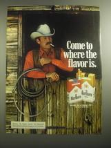 1979 Marlboro Cigarettes Ad - Come to where the flavor is - $14.99