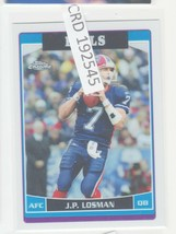 2006 Topps Chrome J.P. JP Losman QB Buffalo Bills #131  192545 - $0.98