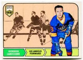 1968/69 Topps Gord Labossiere Card #38 Los Angeles Kings - $1.99