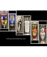 Day of Dead Glow Candle Wick & Wax Party Skeletons DOS Santisima Muerta ... - $10.99