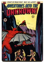 ADVENTURES INTO THE UNKNOWN #10 ACG Pre-Code Horror comic book - $187.94