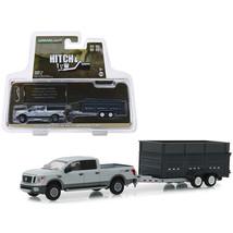 2018 Nissan Titan XD Pro-4X Pickup Truck and Double-Axle Dump Trailer Gr... - $24.93