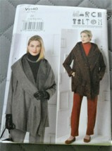 Pattern Vogue Designer Jacket & Pants March Tilton V9140 Uncut Factory F... - $19.78