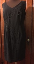 Maggy London Little Dress Black Size 10P Great Condition - $6.92