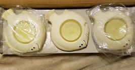 PARTYLITE AQUA PALS Bisque Porcelain Fish Floater Candleholders P7144 NI... - $8.95