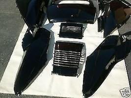 Set de Noir Honda Helix Cn250 Fusion Cn 250 Scooter Supérieur Panneaux - $199.15