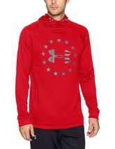 Under Armour Men's Armour Freedom Tech Terry Hoodie 1309409 Red X-Large - $49.95