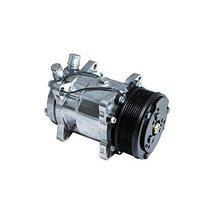 Top Street Performance HC5002C A/C Compressor with Black Clutch (Chromed Serpent