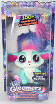 Mattel LIL GLEEMERZ BLUE AMIGLOW Light Up RAINBOW LEMUR INTERACTIVE TOY ... - $39.59