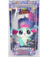 Mattel LIL GLEEMERZ BLUE AMIGLOW Light Up RAINBOW LEMUR INTERACTIVE TOY ... - $39.59