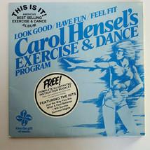Carol Hensel's Exercise & Dance Program LP Vinyl Record Missing Instruct... - $7.91