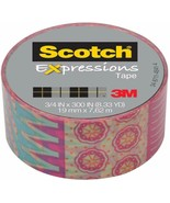 NEW Scotch Expressions Magic Tape, 3/4 x 300 Inches, Circus, 6-Rolls/Pack - $19.85