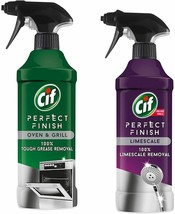 Cif Perfect Finish Limescale & oven Cleaner Combo 435ml - $36.63