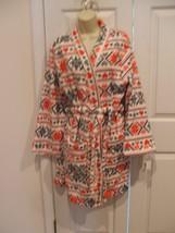 NWT $60  PJ Couture Ultra Soft Plush Bathrobe winter  Bath Robe Size L/XL - $23.68