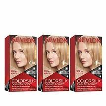Revlon Colorsilk Beautiful Color, Permanent Hair Dye with Keratin (Pack ... - $14.99