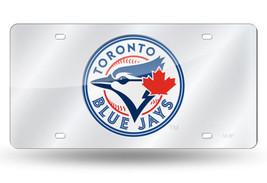 MLB Toronto Blue Jays Laser License Plate Tag - Silver - $29.39