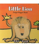 ImageBook Little Lion Finger Puppet Book - $18.00