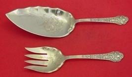 Medici Old By Gorham Sterling Silver Fish Serving Set 2pc - $989.00