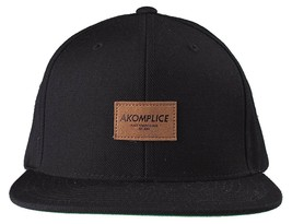 New Akomplice Black Flamingo Mob Est. 2004 Label Patch Snapback Baseball... - £15.15 GBP
