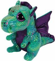 Ty Beanie Boos Cinder The Green Dragon Plush - $15.08