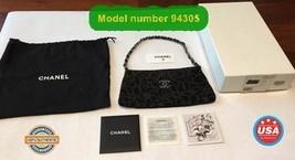 Chanel Clutch Noir Vintage Limited Edition Chain Mini Wallet Purse handb... - $1,435.50