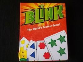 Blink Card Game Mattel 2012 New In Open Box - $7.87