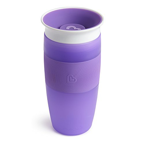 Munchkin Miracle 360 Sippy Cup, Purple, 14 Ounce
