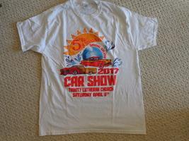 Fifth Annual Spring Splash 2017 Car Show Tee-Shirt Size L (#3234) - $6.99