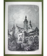 GERMANY Trier Treves Cathedral - VICTORIAN Era Print - $13.76