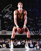 RICK BARRY Signed Golden State Warriors Underhand FT 8x10 Photo - SCHWARTZ - $45.08