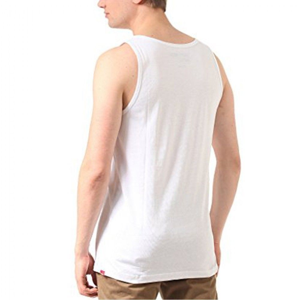 23c567a147934 VANS HANK FOTO FOTOS BAKED BUNS TIGHT SQUEEZE TANK TOP MENS M GIRLS BUMS  WHITE