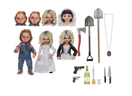 Chucky and Tiffany Ultimate 2-Pack Figure Set from Bride Of Chucky 42114 - $87.81