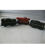 Vintage Marx PostwarElectric Train Cars Lot - $29.69