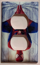 Spiderman Spider man drop down Light Switch Outlet Toggle Rocker Wall Cover Plat image 2
