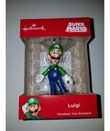 by Hallmark Super Mario Ornament Luigi Christmas Tree 2018 Holiday - $20.95