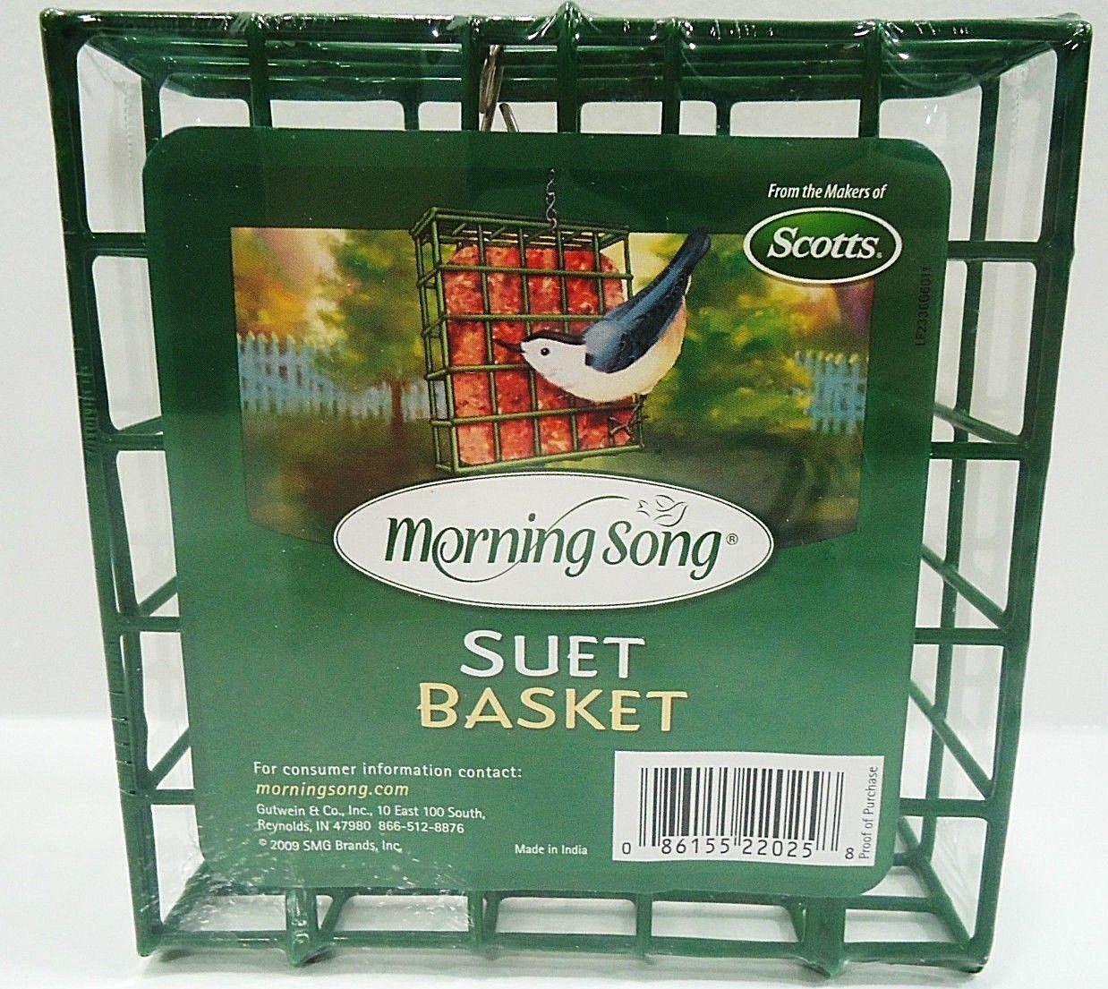 SCOTTS - OUTDOOR - MORNING SONG - SUET - BASKET - BIRD - FEEDER - HOUSE - NEW - $6.29