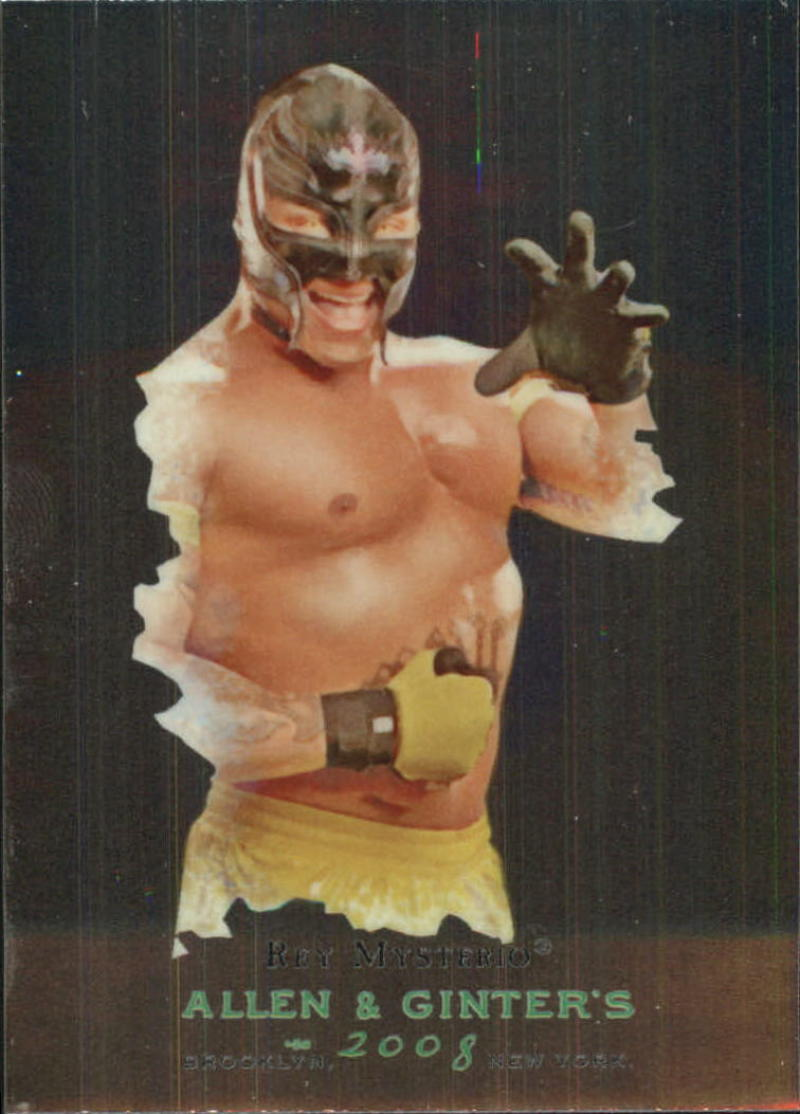 Primary image for 2008 Topps WWE Heritage Chrome III Allen and Ginter Superstars #3 Rey Mysterio N
