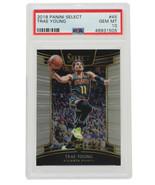 Trae Young 2018 Panini #45 Atlanta Hawks Select Basketball Card PSA GM 10 - $989.01